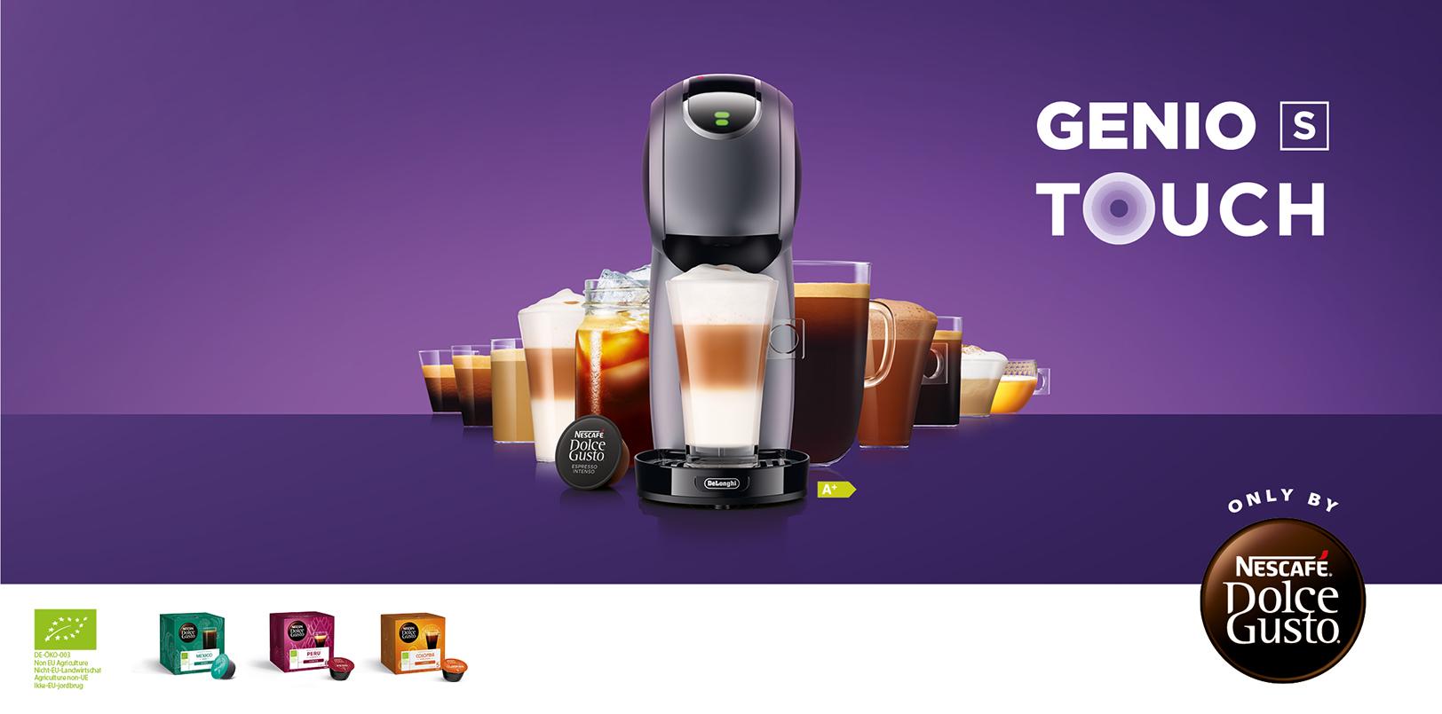 GENIO S Touch Kaffeemaschine von NESCAFÉ Dolce Gusto