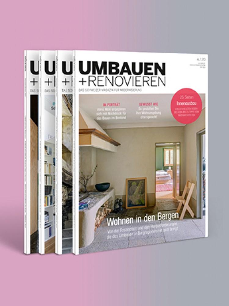 Umbauen + Renovieren 2021/1 Cover